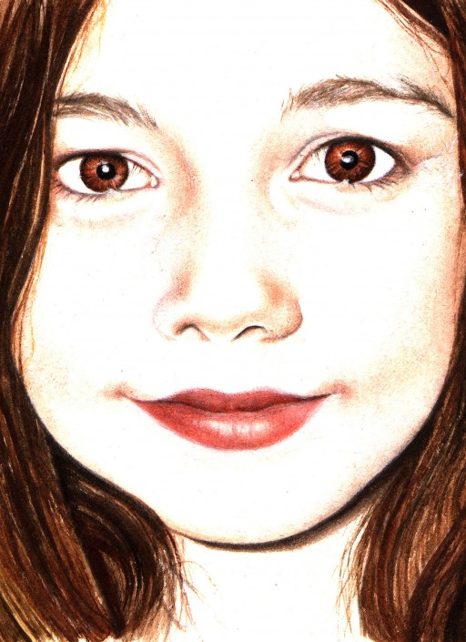 Lily Jean, Watercolour on paper. 2008