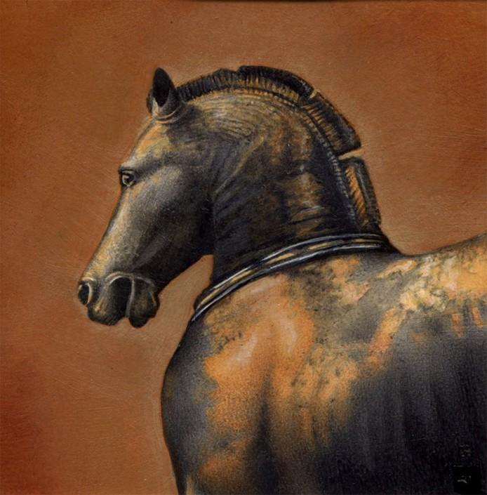 Horse, acrylic