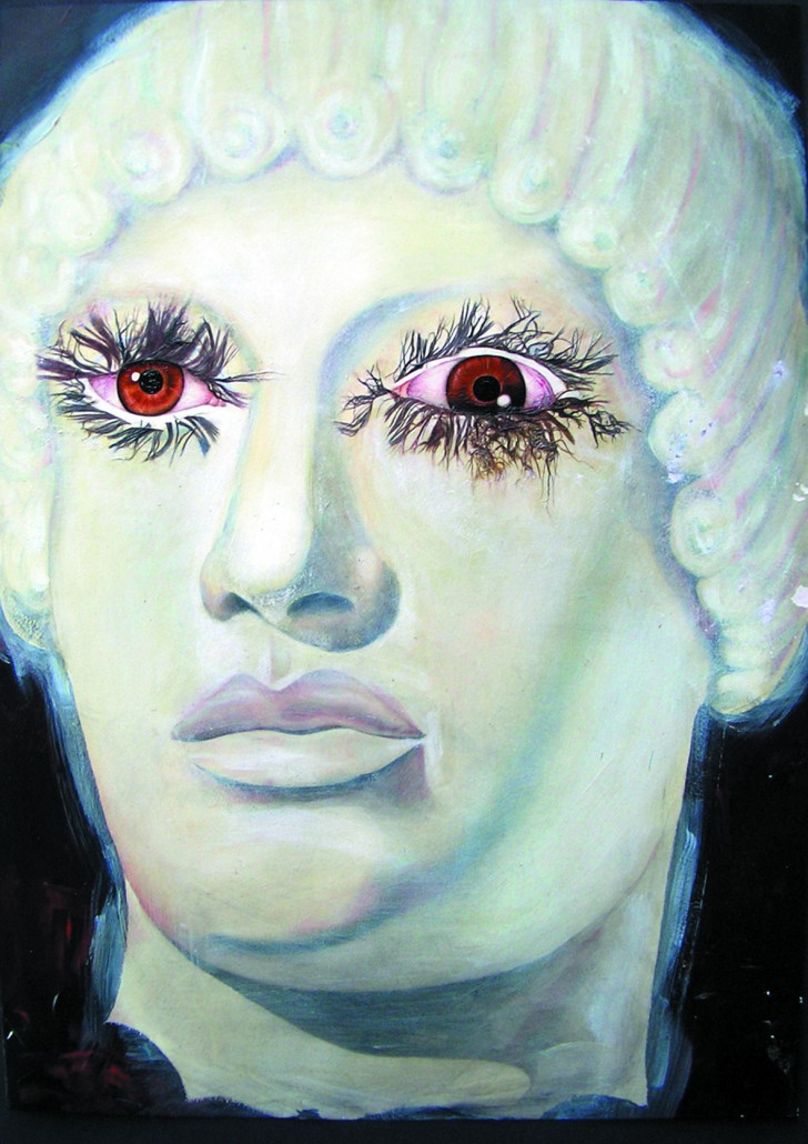 Alexander, acrylic