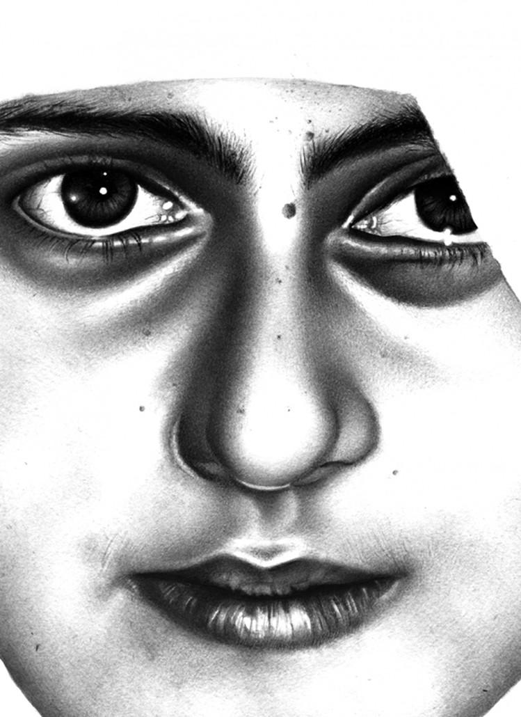 Fatima. Watercolour on paper. 2010