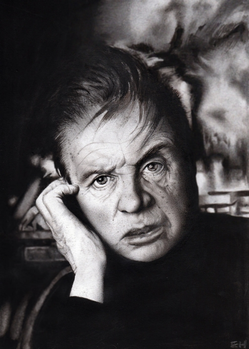 Francis Bacon. A4 Drawing.